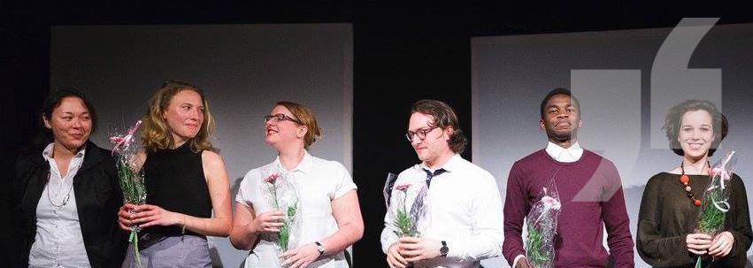 """Verband deutschsprachiger privater Schauspielschulen (VdpS) – Mirja Henking, Lisa Becker und Niklas Luft im Musical """"Der eingebildete Kranke"""""""